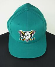 Vintage ANAHEIM MIGHTY DUCKS Wool Blend Snapback Hat Cap NHL Hockey Headwear