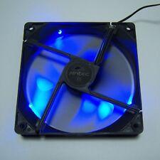 1 PCS Antec 120mm PC Case Fan F120 Blue LED Molex Black Cooling Silent Quiet F11