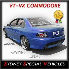 GTO SIDE SKIRTS FOR HOLDEN VT VX VY VZ COMMODORE SEDAN NEW PAIR OF SILL COVERS