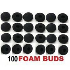 100pcs Soft Foam Sponge Earphone Headphone Earbud Ear Pads Covers Replacement