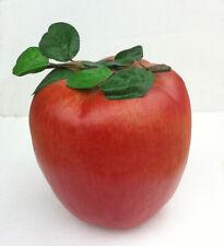 "9"" Huge Artificial Apple Fake fruit Faux Vegetables House Party Christmas Decor"