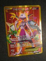 LP FULL ART Pokemon MEWTWO EX Card BREAKTHROUGH Set 164/162 XY Secret Rare AP
