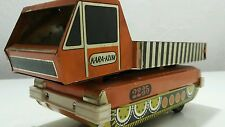 VINTAGE TIN SPACE TOY TRUCK BAGER CAR KARAKUM 2235 USSR1970s BATTERY OPERATED