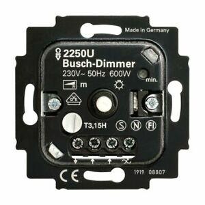 BUSCH JAEGER - Busch Dimmer 2250 U - 60 - 600 W - Phasenanschnitt #hiTT
