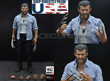 1/6 Wolverine Logan Angry Version Premium Figure Full Set For X-Men USA IN STOCK