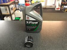 VW POLO 9N 1.4 16V BKY SERVICE KIT OIL FILTER & COMMA OIL 5 LITRES XFLOW