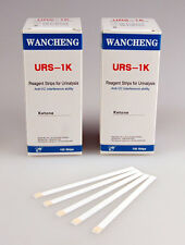 200 x KETONE TEST STRIPS WANCHENG KETONE STICKS ATKINS DIET DIABETIC KETOSIS
