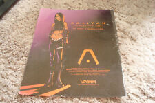 """Aaliyah 2001 ad in animated character for hit """"We Need A Resolution"""""""