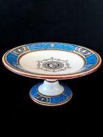 Vintage Mintons Claire England semi-porcelain pedestal 10 inches