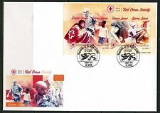 SIERRA LEONE 2015  RED CROSS SOCIETY  SHEET  FIRST DAY COVER