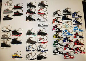 Nike Air Jordan Keychain Retro Sneaker Yeezy AJ 1 3 4 6 11  Buy 2 Get 1 FREE
