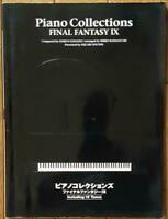 USED USED nal Fantasy IX 9 Piano Collections Score Book / Game Sheet Music