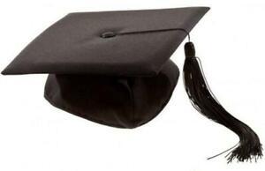 Cappello da laureato tocco dottore travestimento laurea accademia diploma