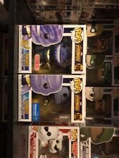Funko Pop Infinity War Thanos Lot, #289 metallic and #296 Store Exclusives!!!