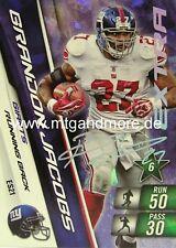Adrenalyn XL NFL - Brandon Jacobs - Giants - #ES21