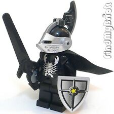 C640 Lego Castle Silver Scorpion Shadow Knight Vladek Custom Minifigure NEW