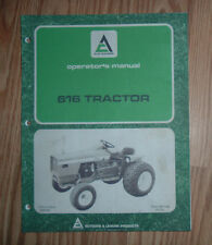allis chalmers outdoor power equipment manuals & guides ebay allis chalmers b wiring allis chalmers 616 tractor owners manual no tm 7126