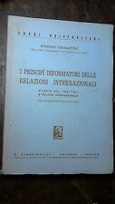I PRINCIPI INFORMATORI DELLE RELAZIONI INTERNAZIONALI  GIORGIO CANSACCHI
