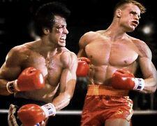 Rocky vs Ivan Drago Punch 10x8 Photo