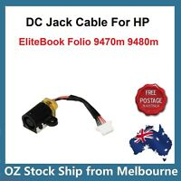 DC Power Jack cable for HP Elitebook Folio Ultrabook 9470m 9480m 702875-001