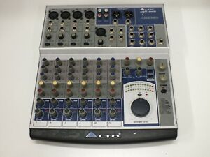 Alto 8-Channel Mixer with Effects AMX 140 FX - NO POWER SUPPLY - UNTESTED