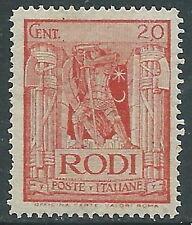 1932 EGEO PITTORICA 20 CENT D.14 MNH ** - I38-3