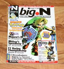 2000 Nintendo Magazine Ogre Battle 64 Zelda Majora's Mask Army Men 2 Mario Party