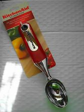 KITCHENAID ICE CREAM SCOOP RED   ~NEW WITH TAGS~