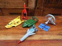 Thunderbirds are Go Small Plastic Thunderbird 1 2 3 4 5 Bundle