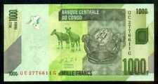 CONGO DEMOCRATIC  - 1000  FRANCS 2005 Prefix QC  P 101   Uncirculated Banknotes