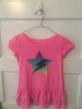 Girl's Hot Pink Tunic Style Shirt Size: 6/6x