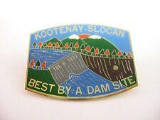 Vintage Lions Club International Kootenay Slocan BEST BY A DAM SITE 19E-8 1977