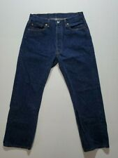 Vintage Levis Strauss 501 Blue Jeans Made In Usa 36×30 EUC