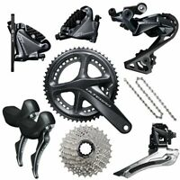 Shimano Ultegra R8020 Hydraulic DISC Brake Groupset (various size options)R8000