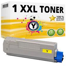 1x XXL Toner Patronen Gelb kompatibel für Oki C610 C610N C610DN C610DTN