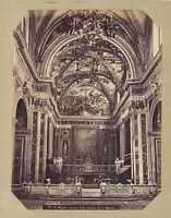 Italia Napoli S.Martino Foto Rive ? Vintage Albumina Ca 1875