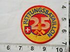 Swiss Fire & Rescue Batalion 25  Embroidered Patch  FREE shipping