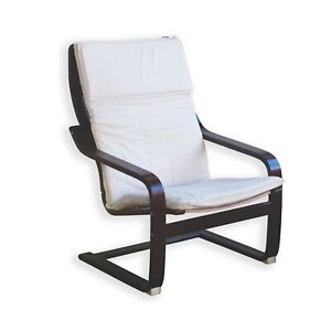 KAO Mart Relax Rocking Chair with Comfortable Cushion Cover and Wooden Frame