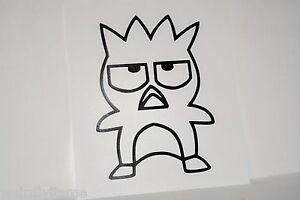 Badtz Maru Vinyl Car Bumper Laptop iPad Tablet Window Decal Sticker Hello Kitty