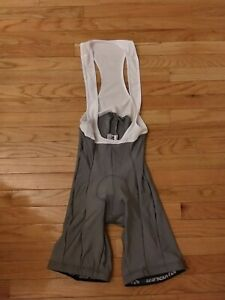 Voler Men's Gray White Torino Cycling Bib Shorts NWOT Size XL