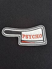 Psycho chopper Embroidered Patch, Badge Iron on or Sew On