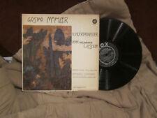 Mahler Kindertotenlieder, Songs of a Wayfarer.  Horenstein Bamberg Symphony LP