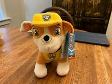 Paw Patrol Rubble Exclusive 8-Inch Plush NEW!!!