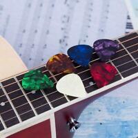 1Pc Acoustic Bulk Guitar Pick 0.46mm/0.71mm/0.96mm Color New Random X4H8