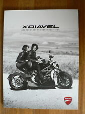 D1050 DUCATI BROCHURE BOOK XDIAVEL ARE READY TO CHANGE POSITION ENGLISH 2016