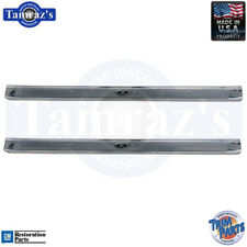 61-64 GM B Body Door Sill Trim Scuff Plate Pair. USA-Made New Trim Parts