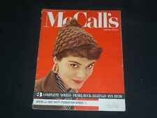 1953 SEPTEMBER MCCALL'S MAGAZINE - NICE COVER, STORIES & ADS - SP 6882