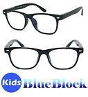 Kids Blue Light Blocking Glasses Computer Gaming Retro Eyewear Vision Care