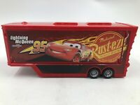 Disney Pixar Cars Mack Hauler 95 Lightning McQueen Toy Model TRAILER ONLY ~ EUC
