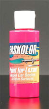 Parma Faskolor Fasflourescent Pink 2oz Acrylic Lexan Body Paint Paint 40104